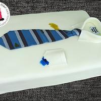 Shirt and Tie cake!