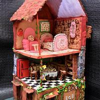 Tags ---- cakerbuddiescollab,  miniaturedollhouse, sugarcrafted, pdcacakerbuddies, pastillage  🦄