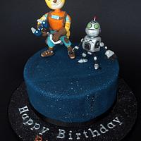 Ratchet & Clank Space Cake