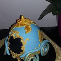 carriage cake for frozen