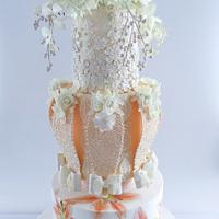Fashion Wedding Cake Collaboration