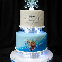 Icing Smiles Frozen Cake :)
