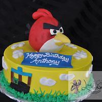 Angry Bird Cake for Kids