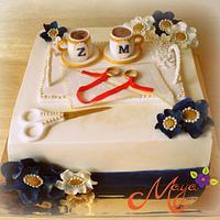 Turkish Engagement Cake