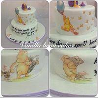 original winnie the pooh cake
