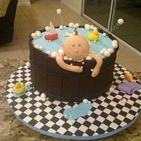 Tub Baby Shower