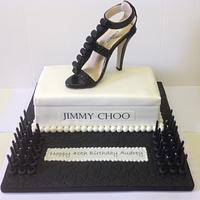 Designer Jimmy Shoe Cake
