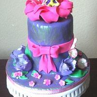 Tinkerbell smash cake
