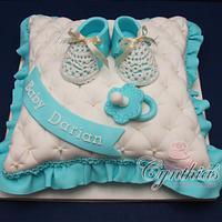 Baby Pillow Cake