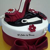 Stiletto  Shoes Cake