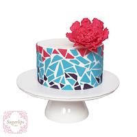 Mosaic by Sugarlips Cakes