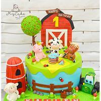 Farm animals 1st birthday
