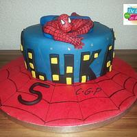 Cake Spiderman