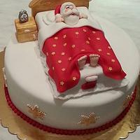 Hush! Santa is sleepy ;)