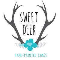 Sweet Deer Hand-Painted Cakes