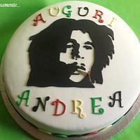Bob Marley cake by Silvia Tartari