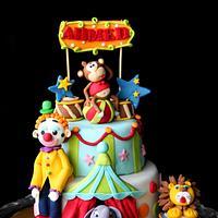 Circus Cake, Royal Engagement Cake, Rapunzel & Snow White