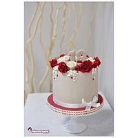 Small elegant cake