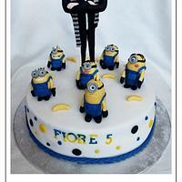 My Minion cake with Gru