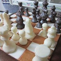 Chess Cake w/ chocolate pieces  by Margarida Myers