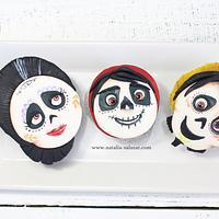 Coco movie cupcakes