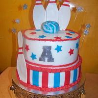 Bowling Birthdaycake