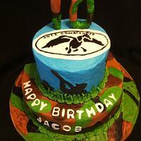 Duck Hunter cake