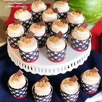 ~ S'mores Cupcakes ~
