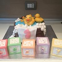 Bath Duck Cake