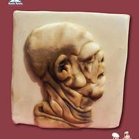Leonardo Da Vinci collaboration Grotesque head