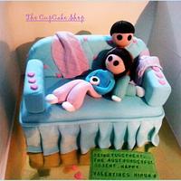 Sofa Love Cake