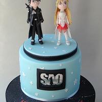 Sword Art Online Cake