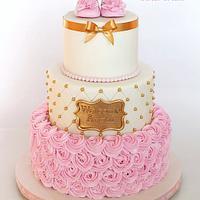 Sweet Baby Shower Cake
