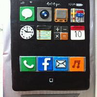 Iphone Cake by amparoedith