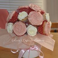 cupcake bouquet by glenda