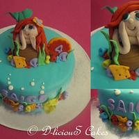 Mermaid Cake by devinasoni