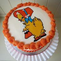 Vintage Easter cake for CakeJournal