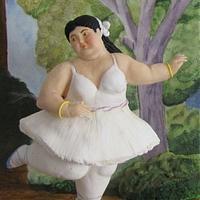Botero challange-Ballerina