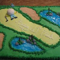 60th b-day golf theme