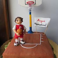 A young basketball player by Silvia Costanzo