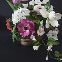 Sugar Flower bouquet  by Erika Amelia Ersek