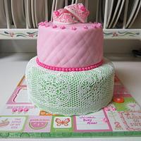 Sugarveil Babyshower cake