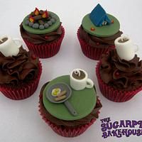 Coffee & Camping Cupcakes