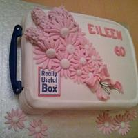 'Really Useful Box' Cake
