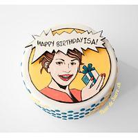 Pop-Art Cake