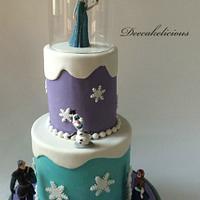 Teal & Lavender Frozen!