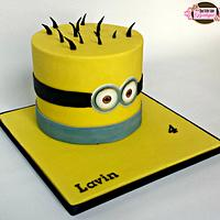 2D Minion Cake