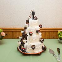 Tony & Nicole's Wedding Cake
