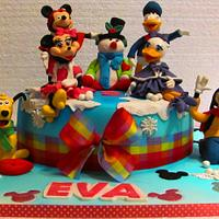 Disney cake by COMANDATORT