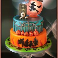 Burnham Youth Club's Halloween Cake